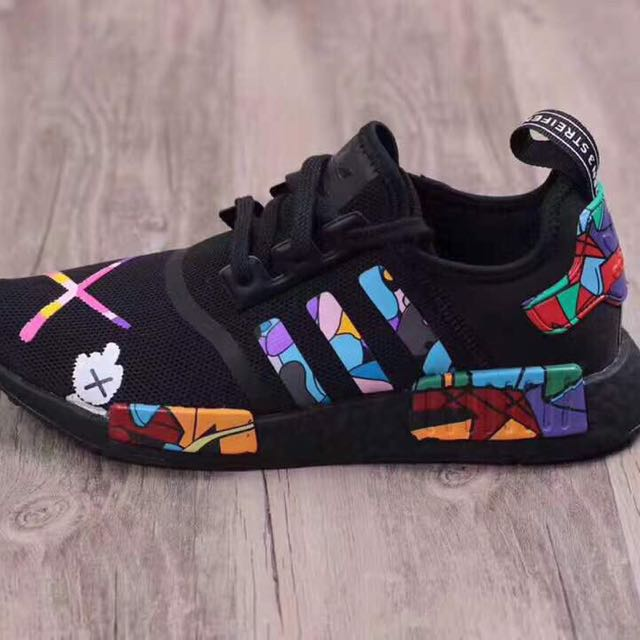 d9e9f8bb4edb Customized Adidas NMD R1 X KAWS (PK)