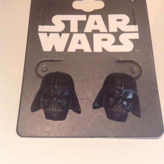 Darth Vader Earrings