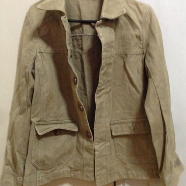 Denim Brown Jacket