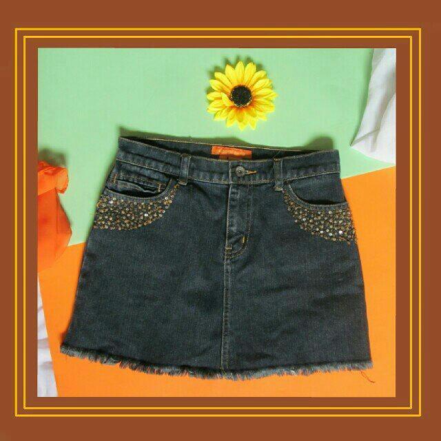 Denim Skirt / Bayo