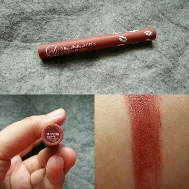 EB Ultra Matte Lipstick
