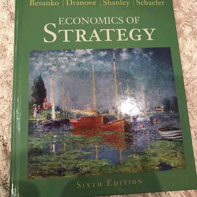 ECONOMICS OF STRATEGY-6th EDITION