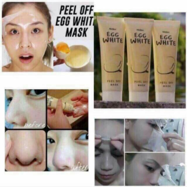 Egg White Peel Off Mask By Mistine (On Hand)