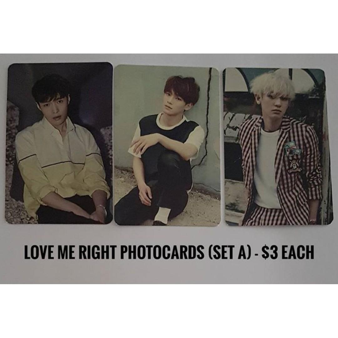 EXO LMR photocard set A
