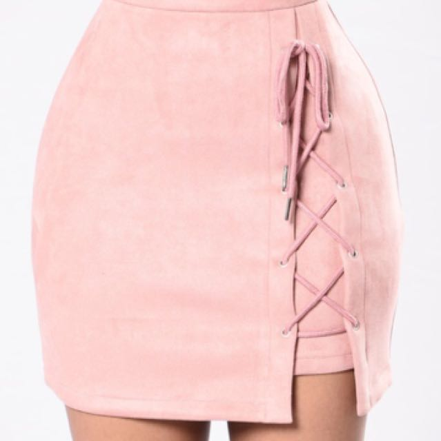 Fashion Nova Glass City Skirt