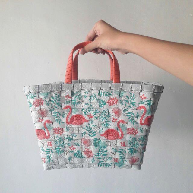 Flamingo Picnic Bag