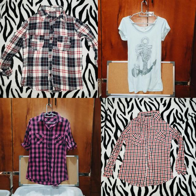 Flannels & Polo Shirt
