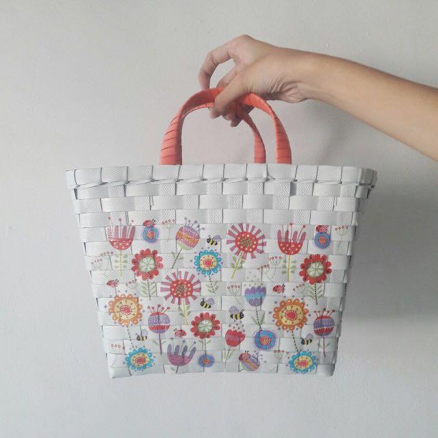 Flowers Picnic Bag