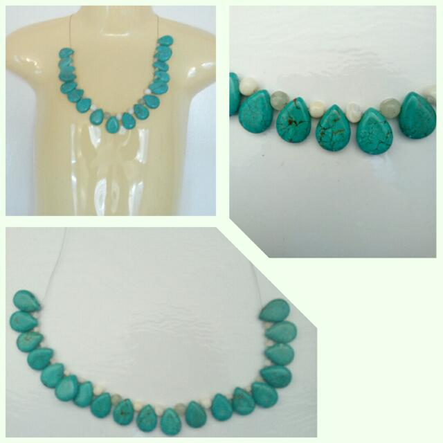 Genuine Turquoise One Off Necklace