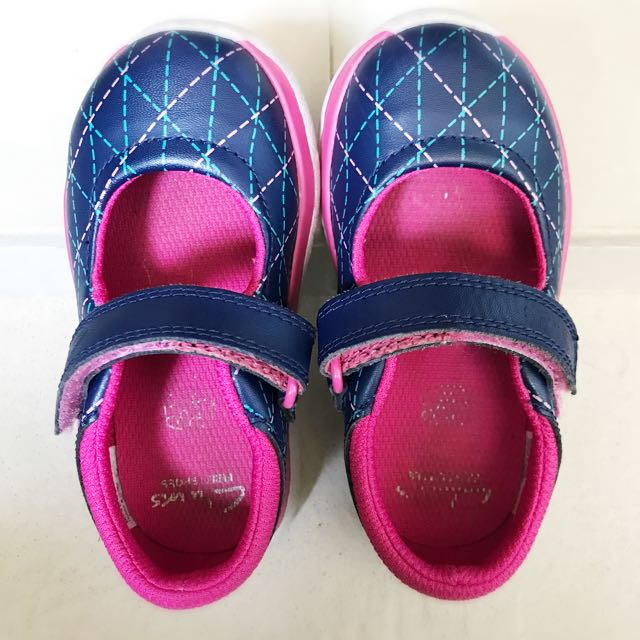 Girls School Shoes Clarks Painted
