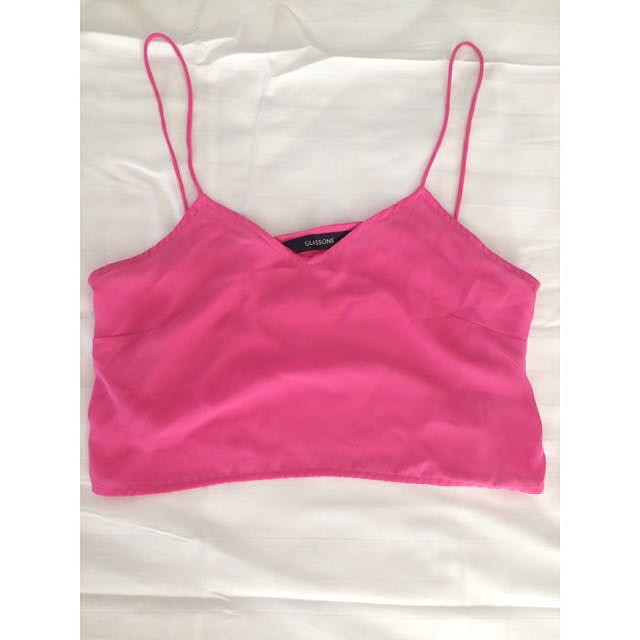 Glassons Light Pink Mid Length Top