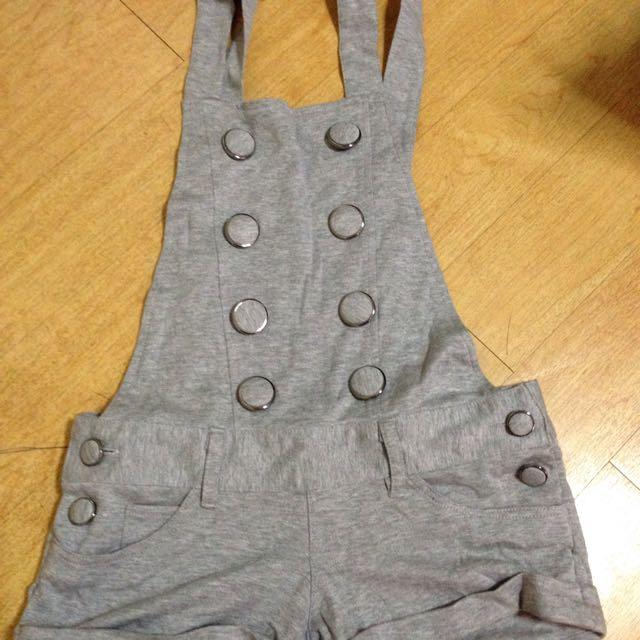 Gray Jumper Shorts
