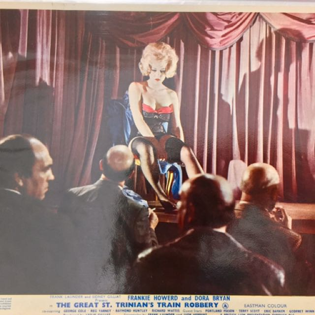 """GREAT ST. TRINIAN'S TRAIN ROBBERY (1966) English Front of House Movie Lobby Card 8""""x10"""""""