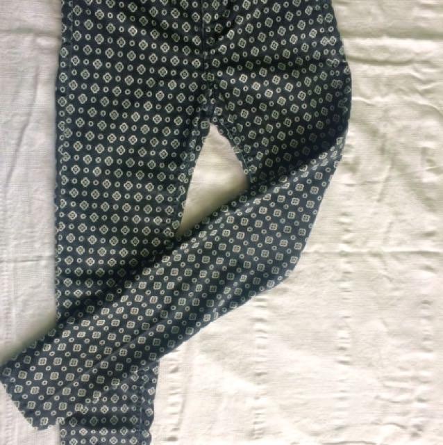 H & M Printed Pants