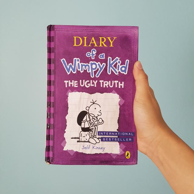 Hardcover diary of a wimpy kid the ugly truth by jeff kinney books photo photo solutioingenieria Gallery