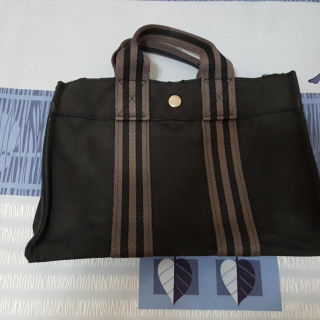(正品)Hermes帆布包