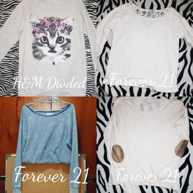 H&M Divided & Forever 21 Pullovers