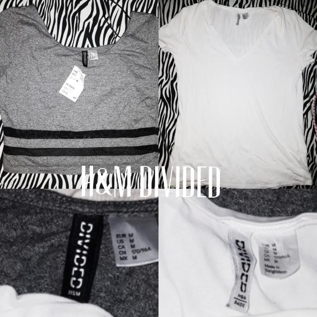 H&M Divided Tops BNWT