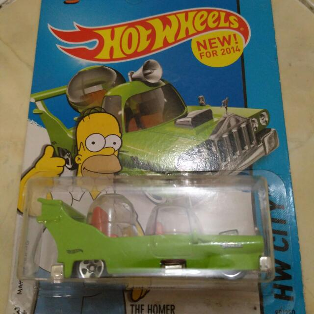Sale..Hot Wheels The Simpsons