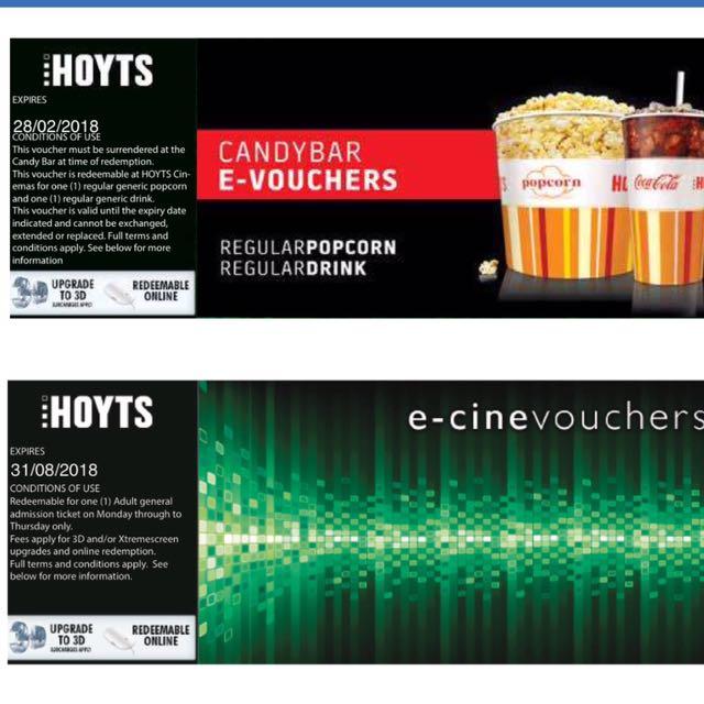 hoyts popcorn deals