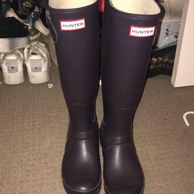 Hunter Boots (rare Colour)