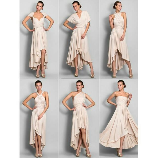 Infinity Dress Maxi Dress Convertible Dress Many Ways