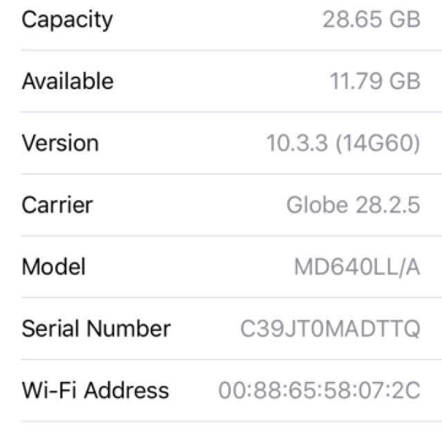 iPhone 5 (32 gb) Space Grey