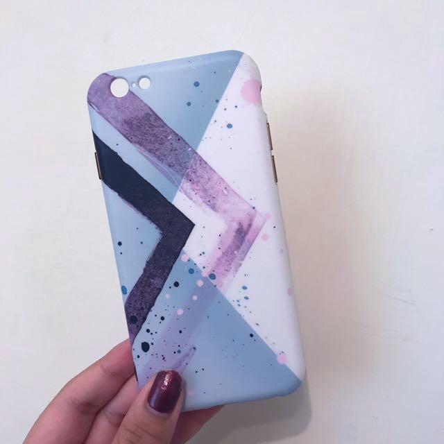 iPhone 6/6s  4.7吋水彩渲染風 軟殼 手機殼