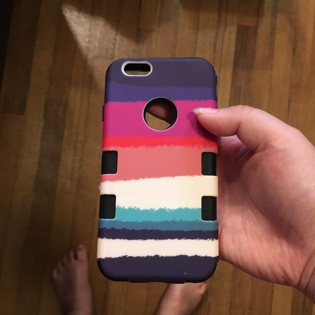 iPhone 6/6s Colourful stripe Case