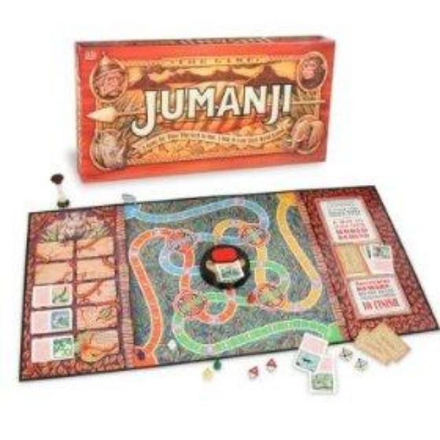 Jumanji The Board Game... Jumanji Board Game