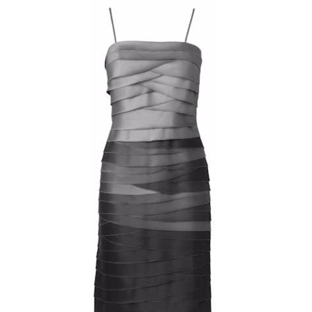 Kate Ombre Grey Dress