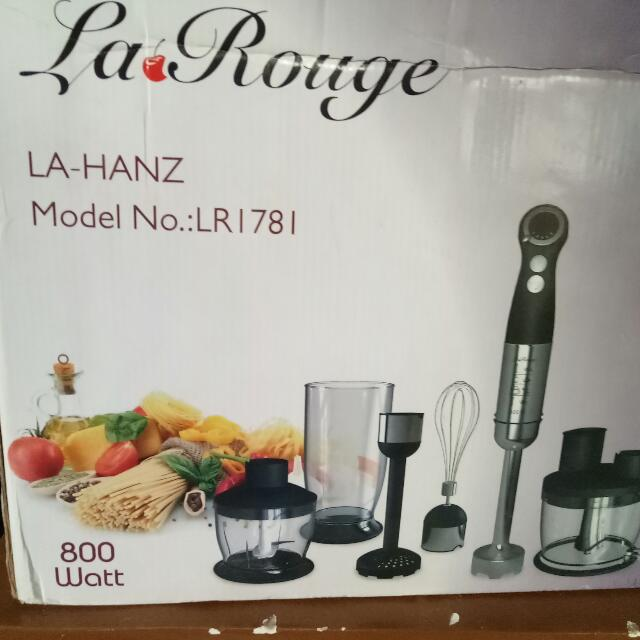la rouge food processor set