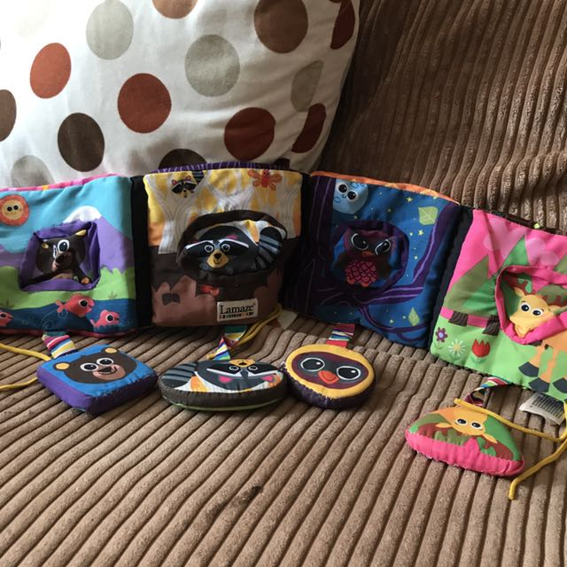 Lamaze Discovering Shapes Activity Book