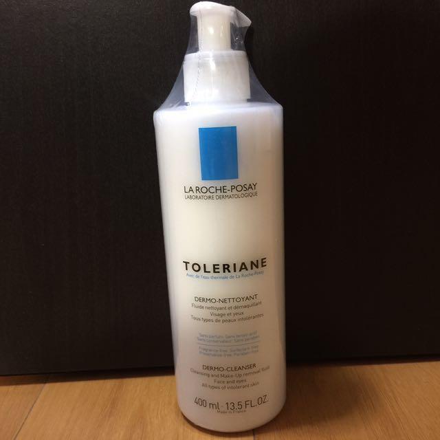 全新LAROCHE-POSAY 理膚寶水多容安清潔卸粧乳液 400ml