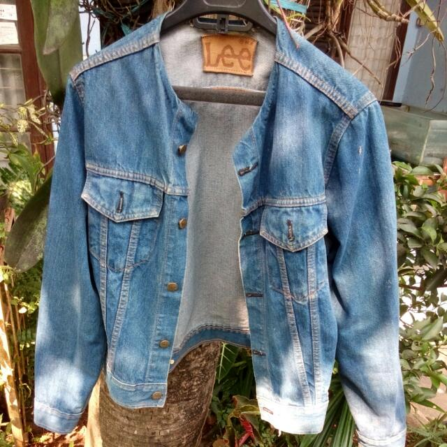 Lee Jacket Jeans Size S