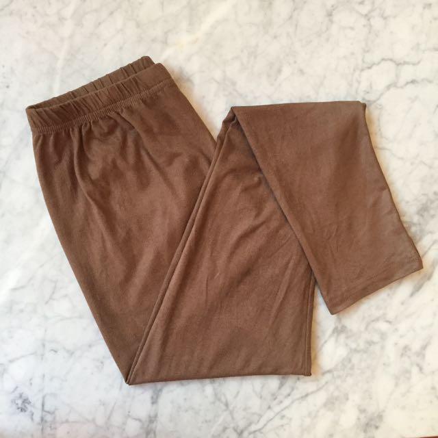 Legging In Brown