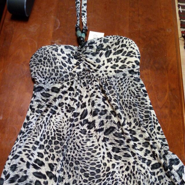 Leopard Print Dress Size S