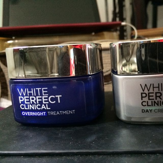 Loreal White Perfect Clinical Overnight Cream