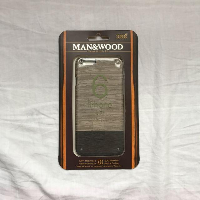 Man & Wood Iphone 6 Case