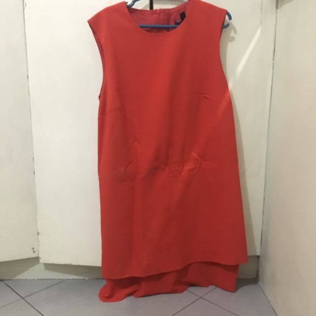 Mango Red Dress