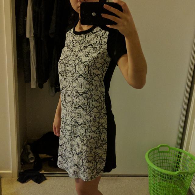 MATERIAL GIRL SHIRT DRESS