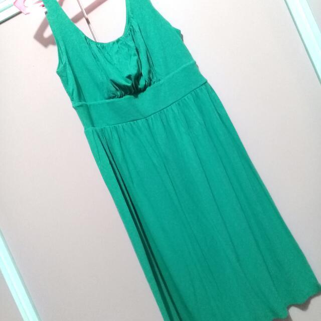 Merona Green Soft Dress