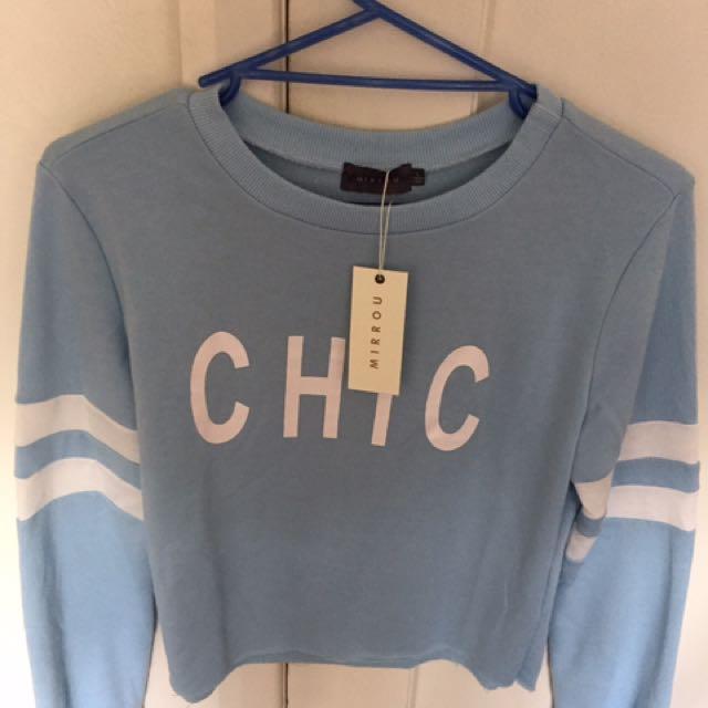 Mirrou Cropped Sweater