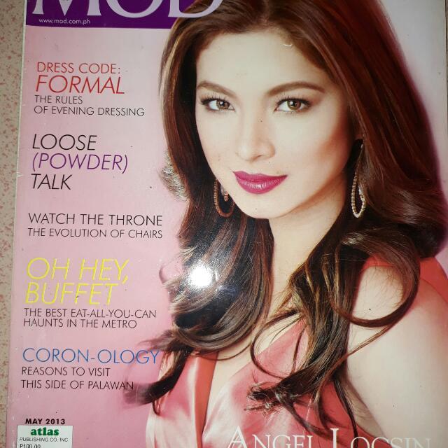 Mod Magazine 2013 Angel Locsin Books Magazines Others On Carousell