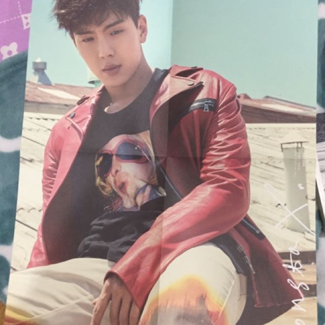 Monsta X Shownu Folded Poster