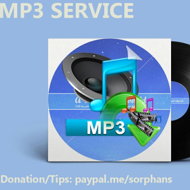 MP3 Services Provides You With Any Mp3 Track Of Your Choice
