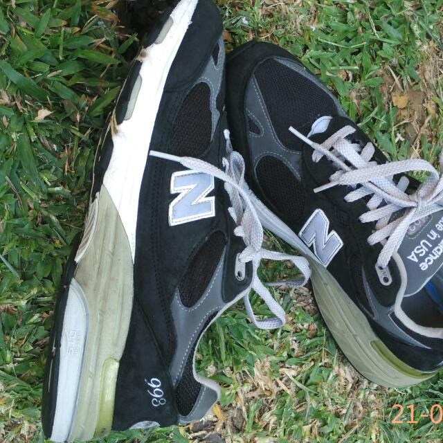 quality design 71fed 2a40c New Balance 993 Kode MR993BK Made In USA Size 42.5/8.5/27cm ...