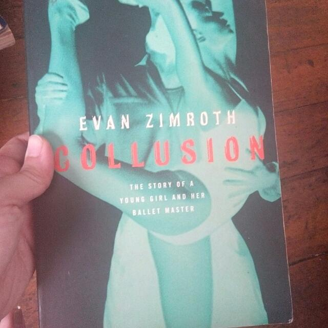 Novel: Collusion By Evan Zimroth
