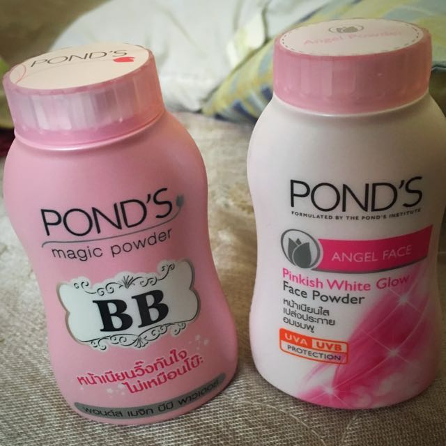 Ponds BB and Angel Face Powder