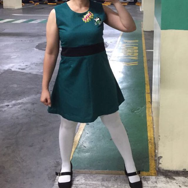 Powerpuff Girl Mini Dress